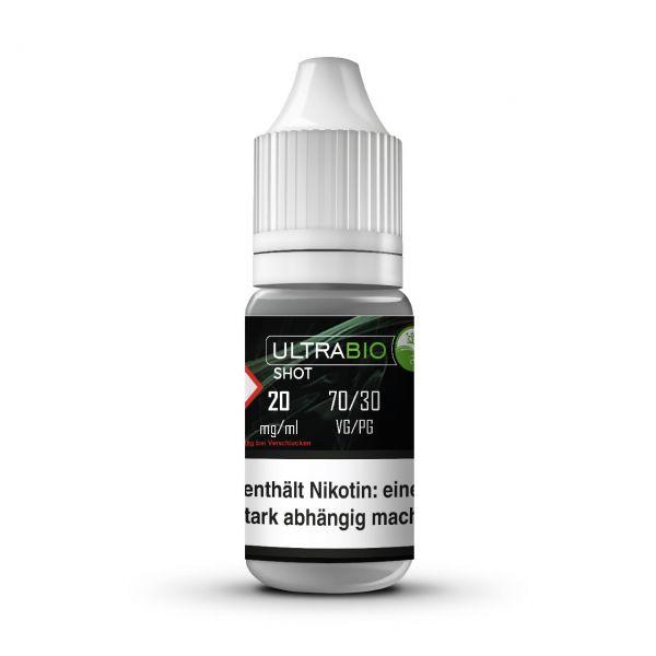 Ultrabio Nikotinshot 20 mg ( 70 VG / 30 PG ) - 10 ml