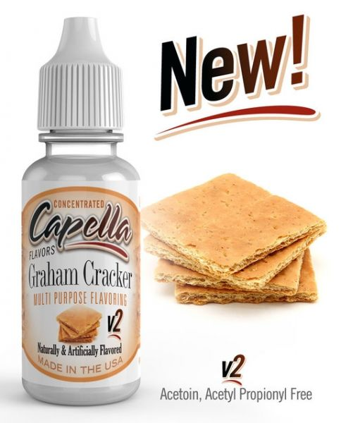 Capella Graham Cracker v2 Aroma Concentrate - 13ml