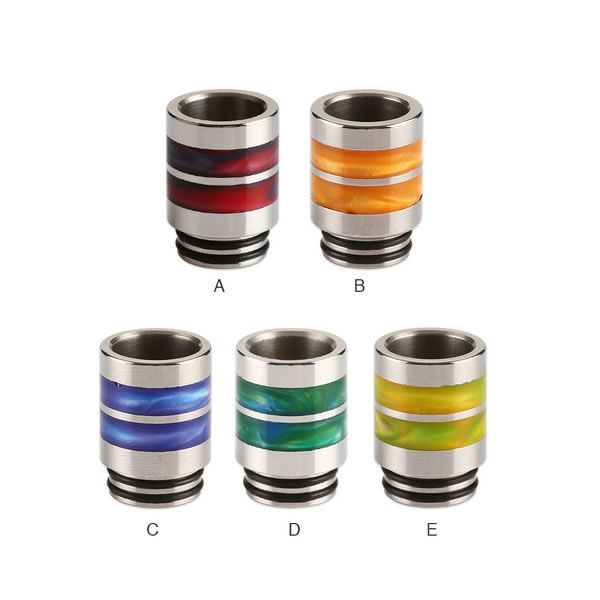 Edelstahl / Resin Ring 810 Drip Tip