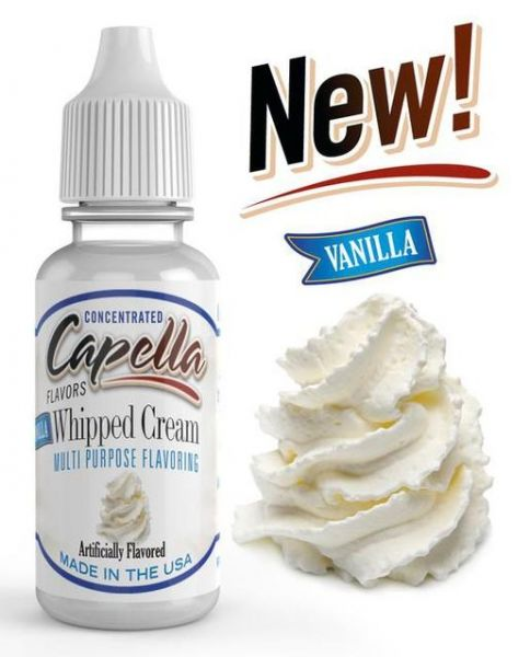 Capella Vanilla Whipped Cream Aroma Concentrate - 13ml
