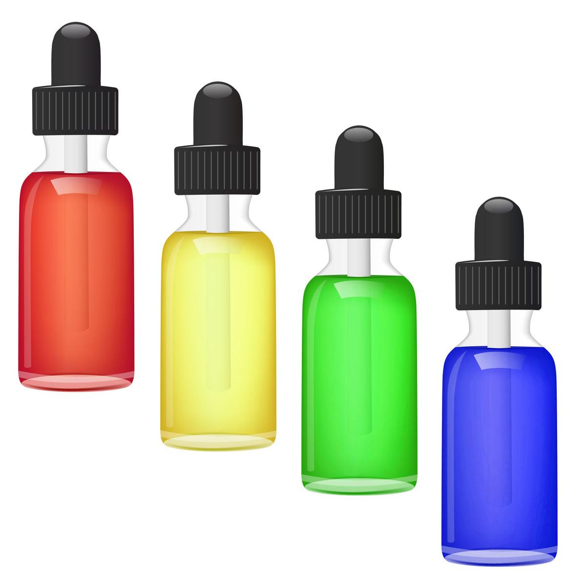 Nikotin Shots | Farbstoffe | Lebensmittelfarbe - 10ml