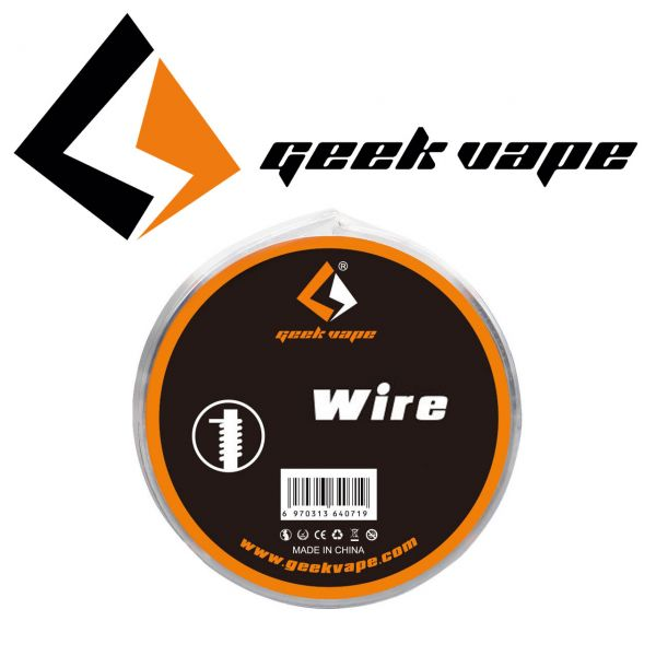 Geek Vape N80 Fused Clapton (0.32*3 / 0.13 mm) - 3 Meter