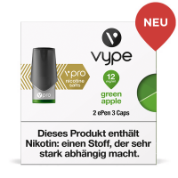 Vype ePen3 Caps vPro Green Apple