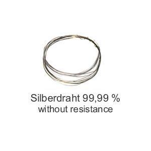 0.2mm Silberdraht 99.99% - Ohne Widerstand