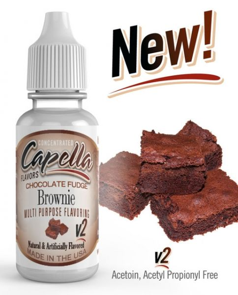 Capella Chocolate Fudge Brownie V2 Aroma Concentrate - 13ml