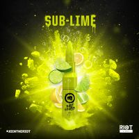 Riot Squad Sub Lime Liquid - 50ml