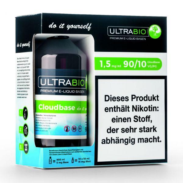 Ultrabio Basen Bundle [ VG 90 / PG 10 ]