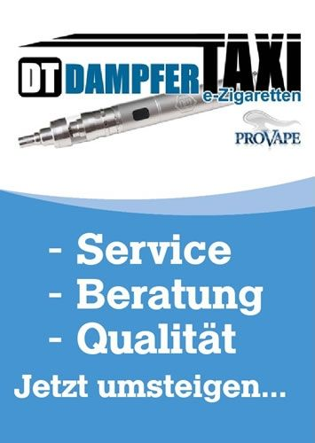 Dampfer-Taxi® Flyer - Infoblatt DIN A6