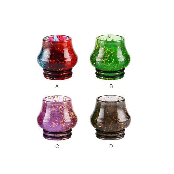 Sequins Resin Bulb 810 Drip Tip