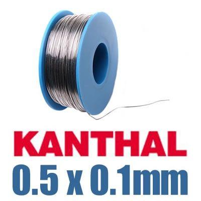 Kanthal Flachdraht 0.5 x 0.1 mm