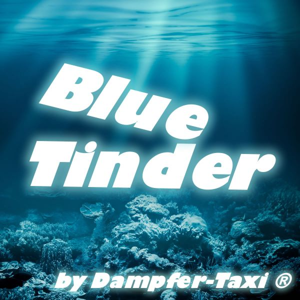 Blue Tinder Liquid by Dampfer-Taxi®