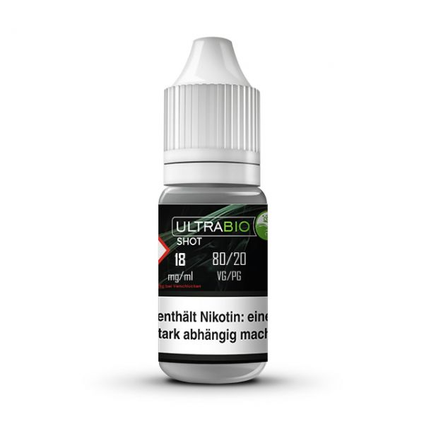 Ultrabio Nikotinshot 18 mg ( VG 80 / PG 20 ) - 10ml