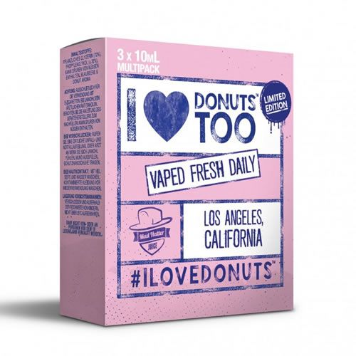 I Love Donuts by Mad Hatter Juice - 3 x 10 ml Multipack
