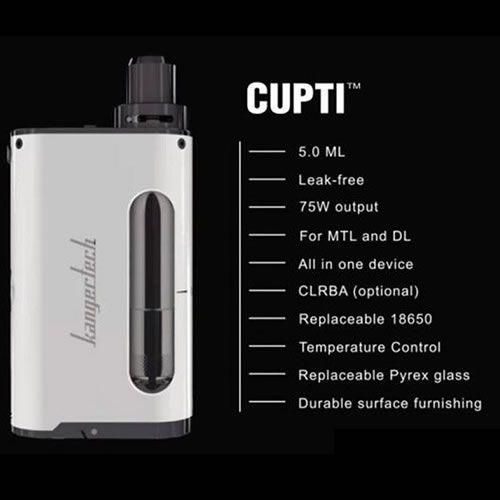 Kangertech 75W CUPTI TC Starter Kit