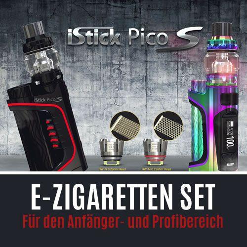 E-Zigarette Starterset und Akkuträger