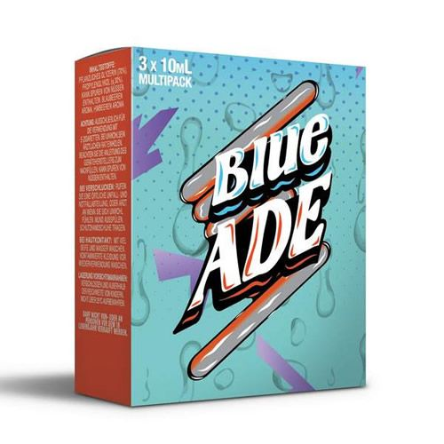 ADE Blue by Mad Hatter Juice - 3 x 10 ml Multipack