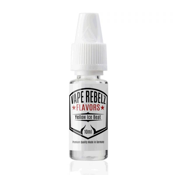 Vape Rebelz® Yellow Ice Beat pur Flavor | Aroma - 10ml