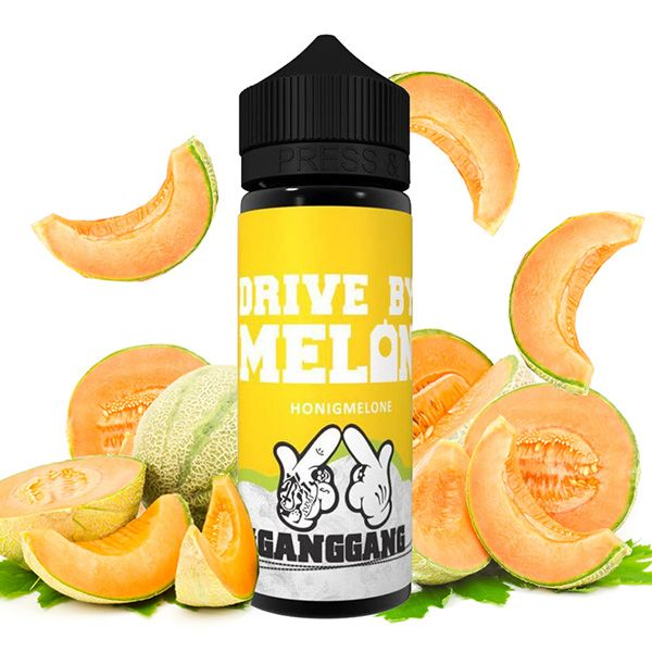 GANGGANG Drive by Melon Liquid - 100 ml