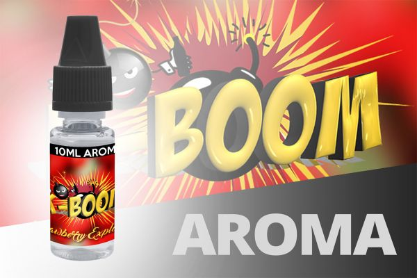 K-Boom Strawberry Explosion - 10ml