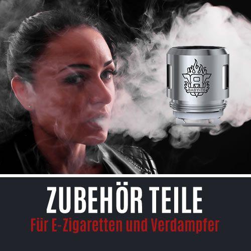 E-Zigaretten und Verdampfer Zubehör