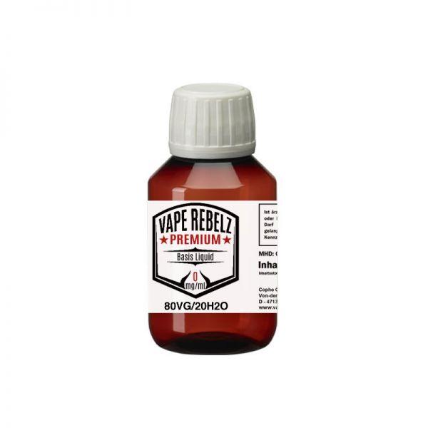Vape Rebelz® Basis Liquid Glycerin / H2O (0:80:20) - 100ml