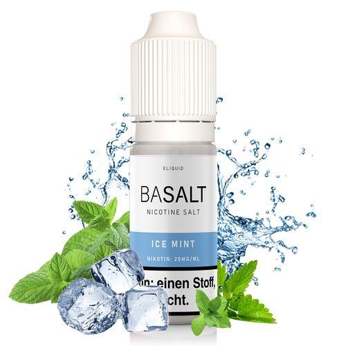 Basalt Ice Mint Nic Salt Liquid - 10 ml