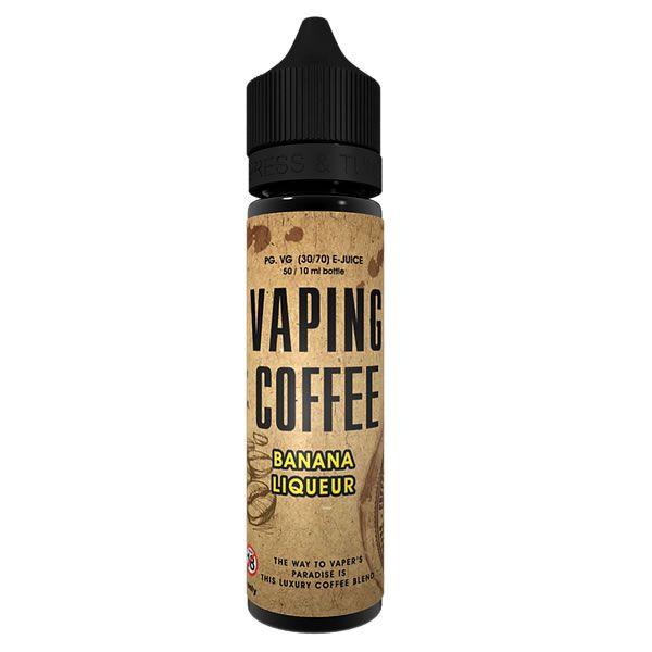 Vaping Coffee Banana Liqueur - 50ml