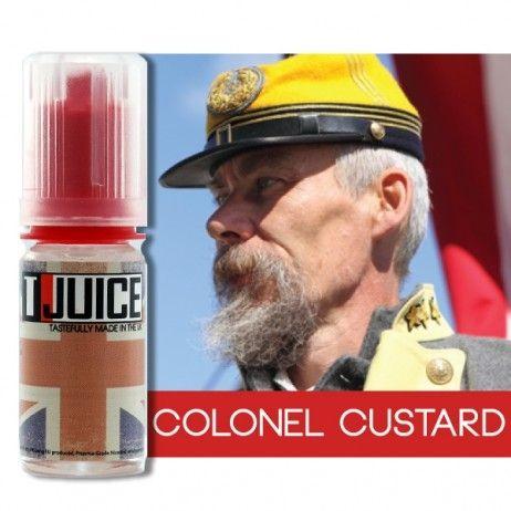 T-Juice Colonel Custard Concentrate - 10ml / 30ml