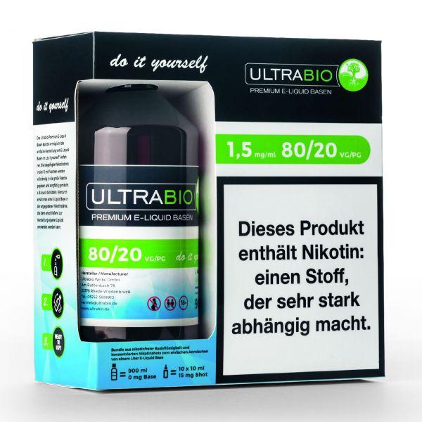 Ultrabio Basen Bundle [ VG 80 / PG 20 ]