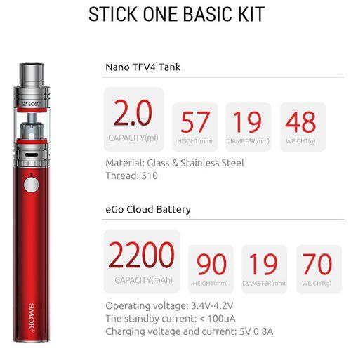 SMOK Stick One Basic Kit - 2200mAh