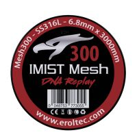 IMIST 3 Meter SS316L Mesh Wire 300 Wickeldraht