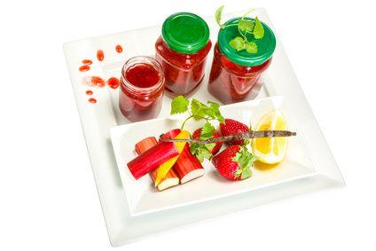 Erdbeere Rhabarber Mix Liquid von Dampfer-Taxi® 10ml / 50ml / 100ml