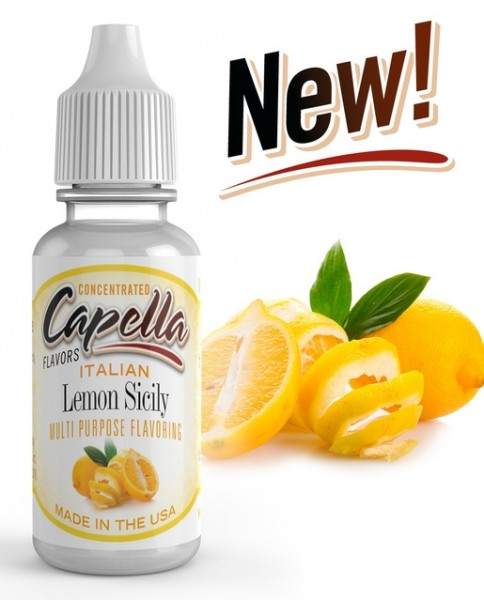 Capella Italien Lemon Sicily Aroma Concentrate - 13ml