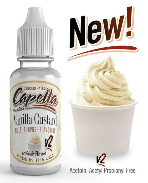 Capella Vanilla Custard V.2 Aroma Concentrate - 13ml
